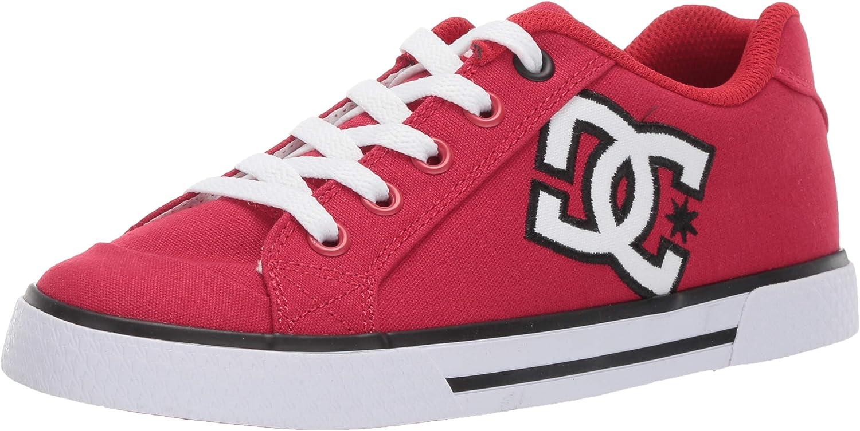 DC Woherren Chelsea TX TX TX Skate schuhe, rot Weiß, 7.5 M US  c2a535