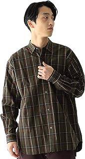 [ビームス] カジュアルシャツ チェック イージー ミニレギュラー シャツ メンズ