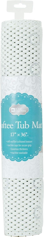Home Expressions Soft Waffle Foam Texture Mat Shower Bath Tub Charlotte Mall High order Ma