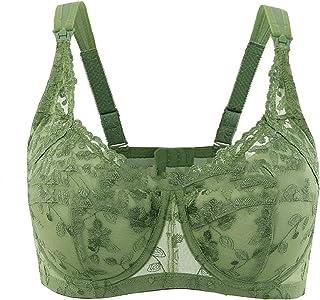 d51fc1b3553f4 GAGA Women s Signature Lace Full Coverage Breastfeeding Bra Thin Plus Size Nursing  Bra