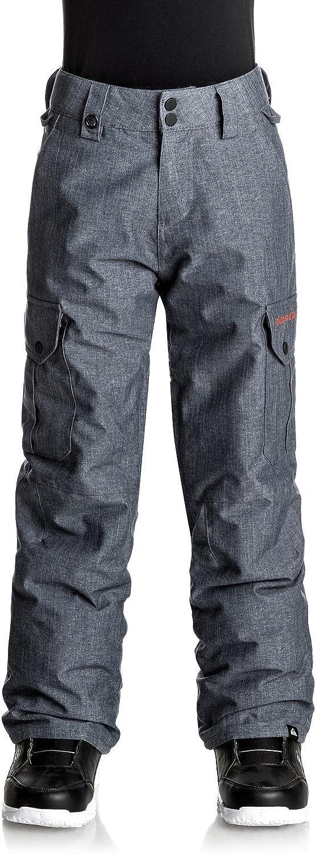 Quiksilver EQBTP03012 Boy's 8-16 Porter Snow Pant, Estate bluee10 M