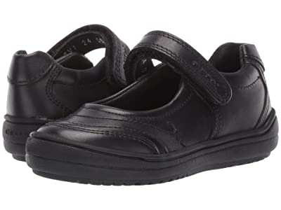 Geox Kids Jr Hadriel 15 (Toddler) (Black Oxford) Girls Shoes