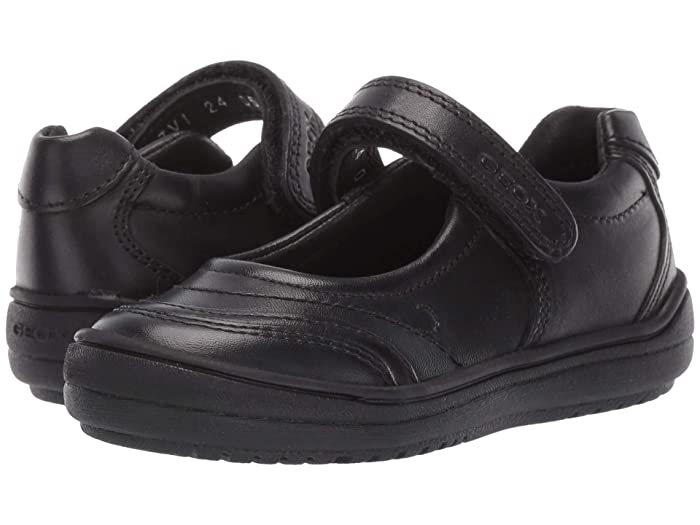 EAN 8054730232912 product image for Geox Kids Jr Hadriel 15 (Toddler) (Black Oxford) Girls Shoes | upcitemdb.com