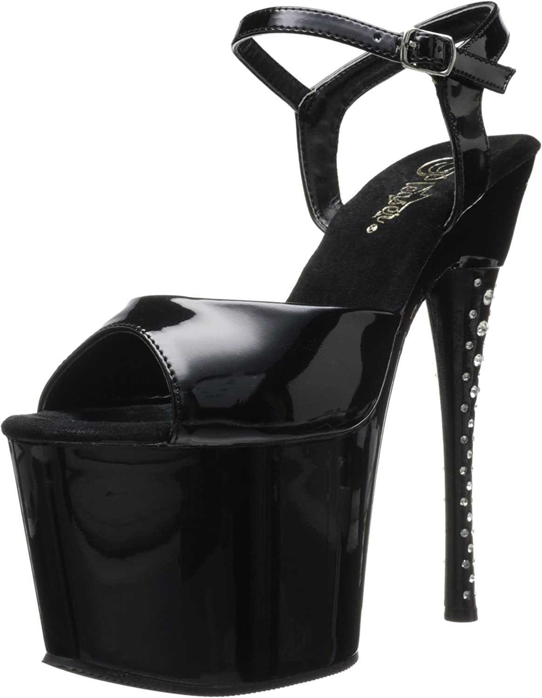 Pleaser Women's Diamond-709 Platform Sandal