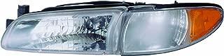 Eagle Eyes GM141-B001L Pontiac Driver Side Head Lamp Assembly