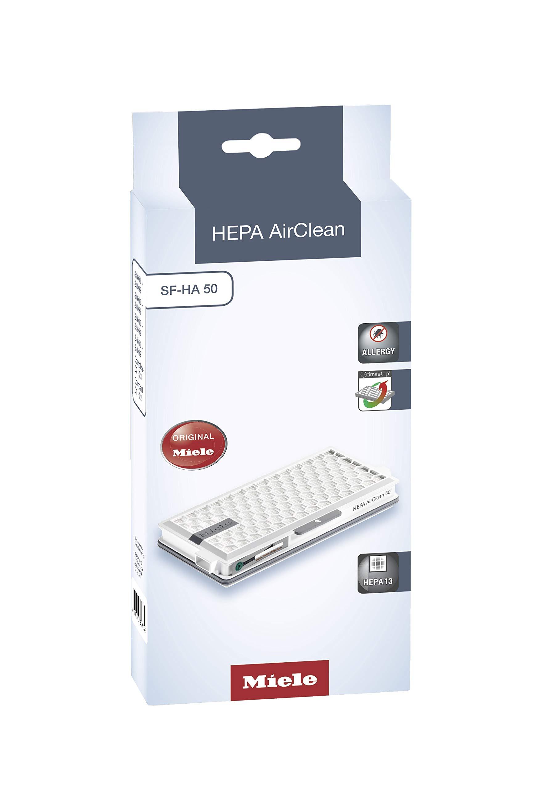 Miele SF-HA 50 Airclean - Filtro para aspiradores S 4 y S 5: Amazon.es: Hogar