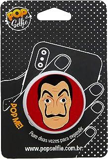 Popsocket Original la Casa de Papel Ps220, Pop Selfie, 151444, Branco