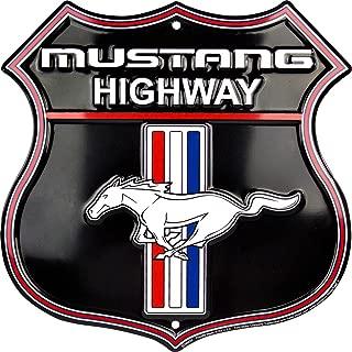 HangTime Mustang Highway Shield Sign