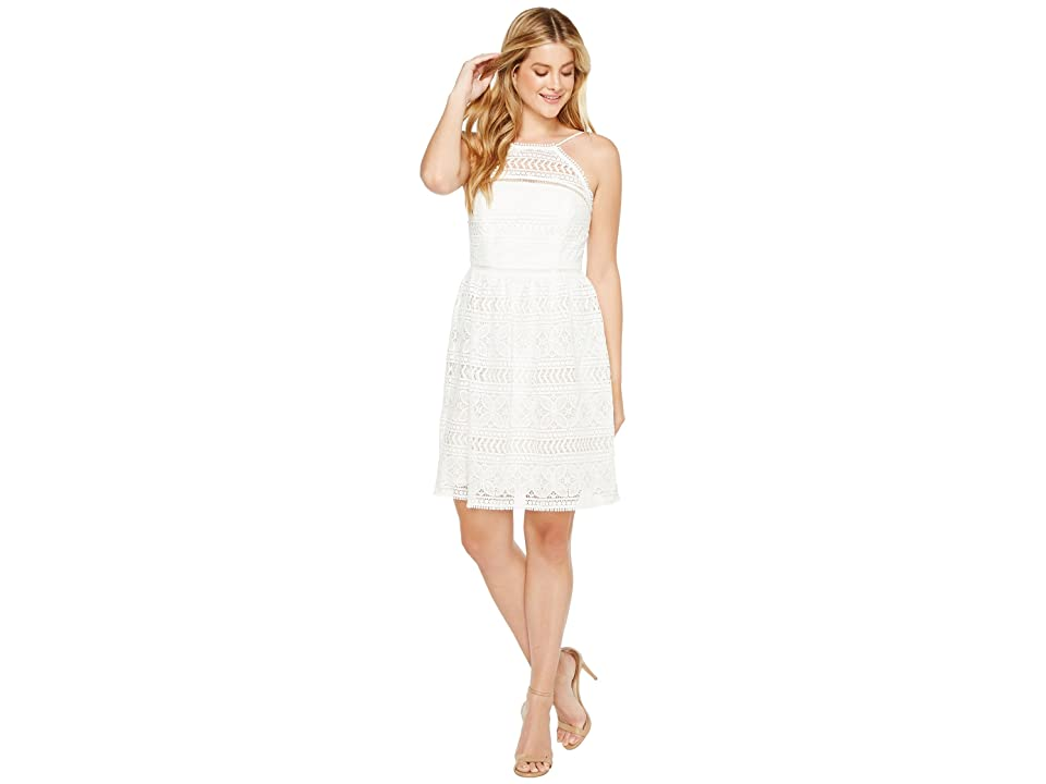 Trina Turk Picnic Dress (White Wash) Women