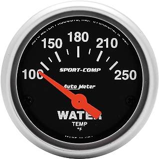AutoMeter Auto Meter 4937-M Gauge Water Temp Electric 40-120/ºc 2 1//16 Ultra-Lite Ii
