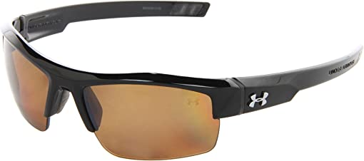 Shiny Black/Brown Polarized Multiflection