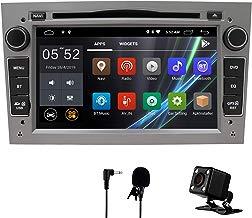 Coche estéreo Android 8,1 Radio Reproductor de DVD GPS NAVI 7 Pulgadas IPS 2 DIN Encaja para Opel Antara Vectra Crosa Vivaro Zafira Meriva cámara Bluetooth WiFi Espejo Enlace USB SWC