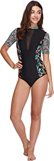 Body Glove Women's Adventurer Zip Back Paddle One Piece Swimsuit with UPF 50+