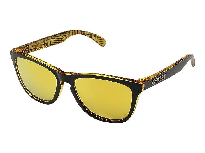 Oakley Frogskins Urban Commuter (IML) (LA Black w/ 24K Iridium) Athletic Performance Sport Sunglasses