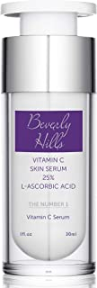 Beverly Hills Vitamin C Serum (25%) with L-Ascorbic Acid for Hyperpigmentation