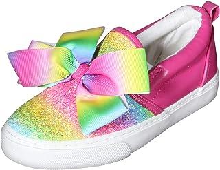 Girls Signature Bow Slip on Sneaker (Little Kid/Big Kid)