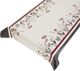 largeur 1m50 toile enduite PVC au metre pour nappe ou autre