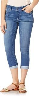 Women's Juniors Plus-Size InstaSoft Ultra Fit Skinny Stretch Crop Jeans