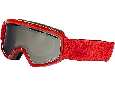 VonZipper Trike Goggle (VR-303 Red Gloss/Wildlife Silver Schore Lense) Goggles