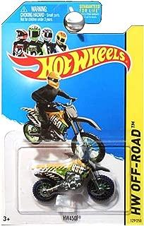 Hot Wheels HW Off Road Moto HW450F Dirt Bike Dirtbike Motorcycle Yellow Green