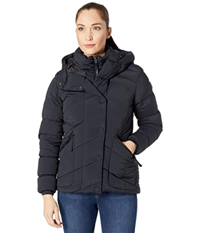 Columbia Ember Springs Down Parka (Black/Shark) Women