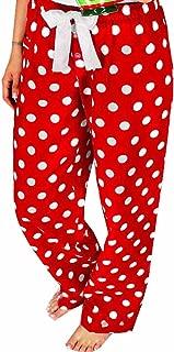 Red Polka Dot Pajama Pants