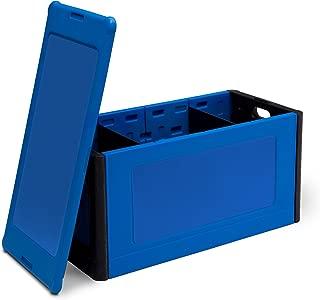 Delta Children Store and Organize Toy Box, Blue