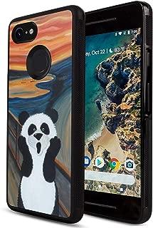 Case for Google Pixel 3, Case with Tire Pattern Soft Edges Cover Anti-Fingerprint Panda