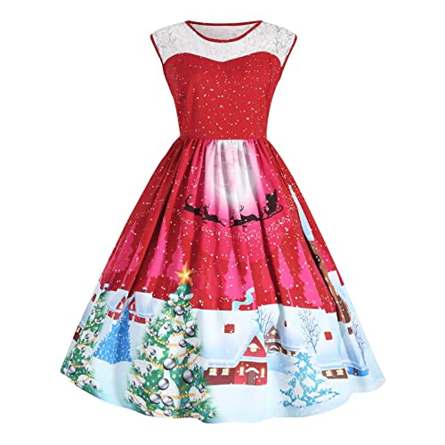 Women\'s Plus Size Christmas Dress: Amazon.com