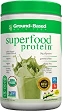 Superfood Protein Powder -Natural Unflavored – by Ground Based Nutrition – Plant Based Protein Superfood – Vegan – 20 Servings Estimated Price : £ 32,75