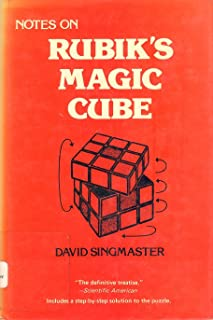 Notes on Rubik's Magic Cube
