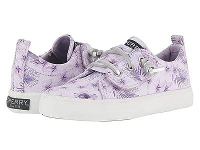 Sperry Kids Crest Vibe Jr. (Toddler/Little Kid) (Purple) Girls Shoes