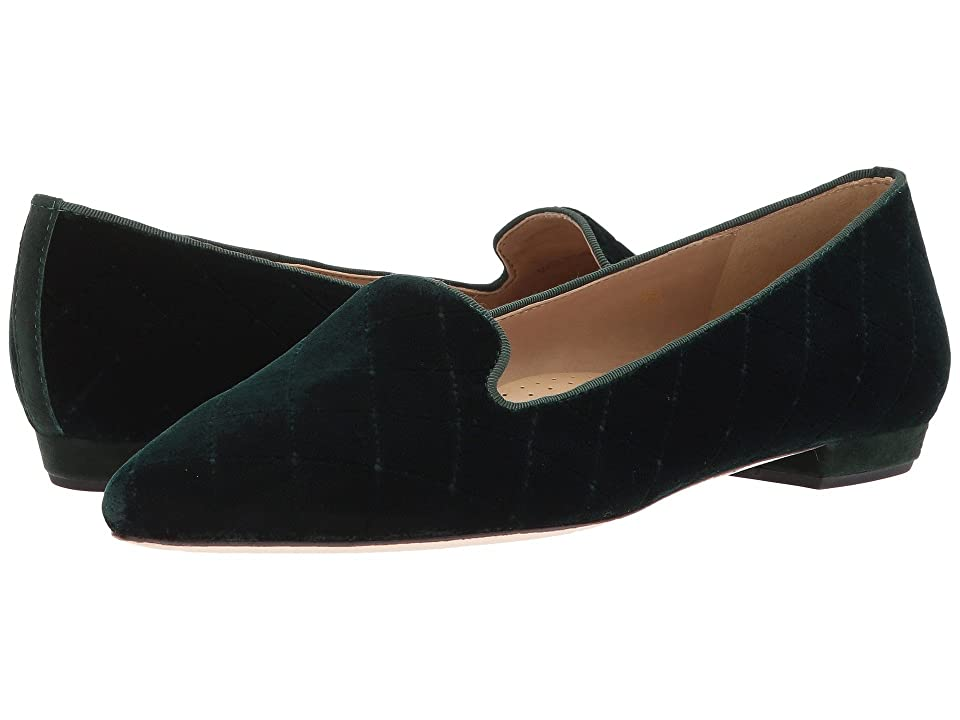 Vaneli Gannie (Dark Green Trap Velvet/Matching Suede) Women