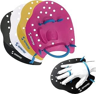 LANE 4 Palas de Mano para Nataci/ón S//L Correas Ajustables para Nadadores de Todos los Niveles Adultos Adolescentes HPA