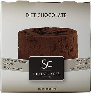 Pack of 12 Say Cheese Gourmet Mini Diet Cheesecake - Diet Chocolate