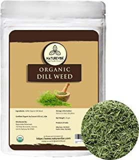 Sponsored Ad - Naturevibe Botanicals Organic Dill Weed, 25gm | Non-Gmo and Gluten Free | Indian Seasoning | Adds Flavor
