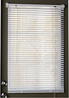 Trenton Gifts Magnetic Window Blinds, Mini Snap-On Blinds, Thin Slats of 1""