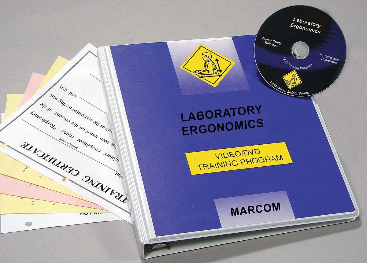 Max 64% OFF Marcom Our shop OFFers the best service Group V0001139EL Laboratory Training DVD Ergonomics