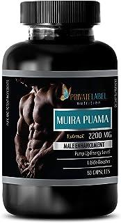 Pills for Men - Muira PUAMA Extract 2200Mg - Male Enhancement - Muira puama Bulk - 1 Bottle