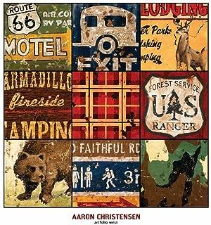 Printfinders American Adventure by Aaron Christensen Canvas Art, 30-Inch by 30-Inch
