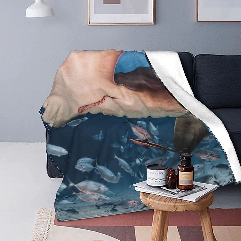Blankets Hammerhead Shark Fleece Throw Blanket Soft Warm Lowest price challenge Ranking TOP8