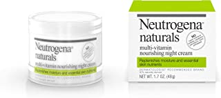 Neutrogena Naturals Multi-Vitamin Moisturizing & Nourishing Night Face Cream with Antioxidant Bionutrients & Vitamins B, C...