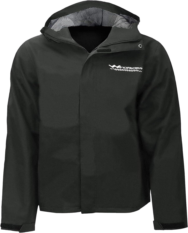 超安い 新作 大人気 WindRider Men's Rain Jacket with Waterproof Breathable Hood