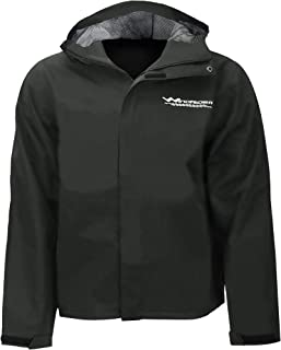 WindRider Men's Rain Jacket with Hood Waterproof   Breathable   Soft Feel