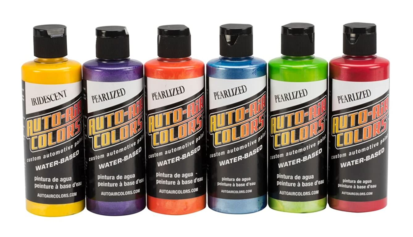 Auto Air Colors 4966-00 Essential Pearlized Colors, 4 oz