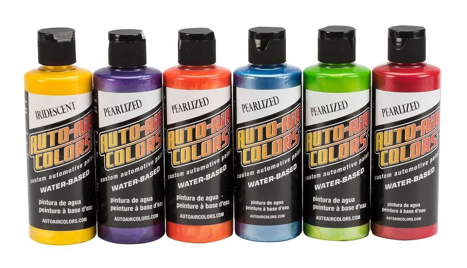 Auto Air Colors 4966-00 Essential Pearlized Colors, 4 oz