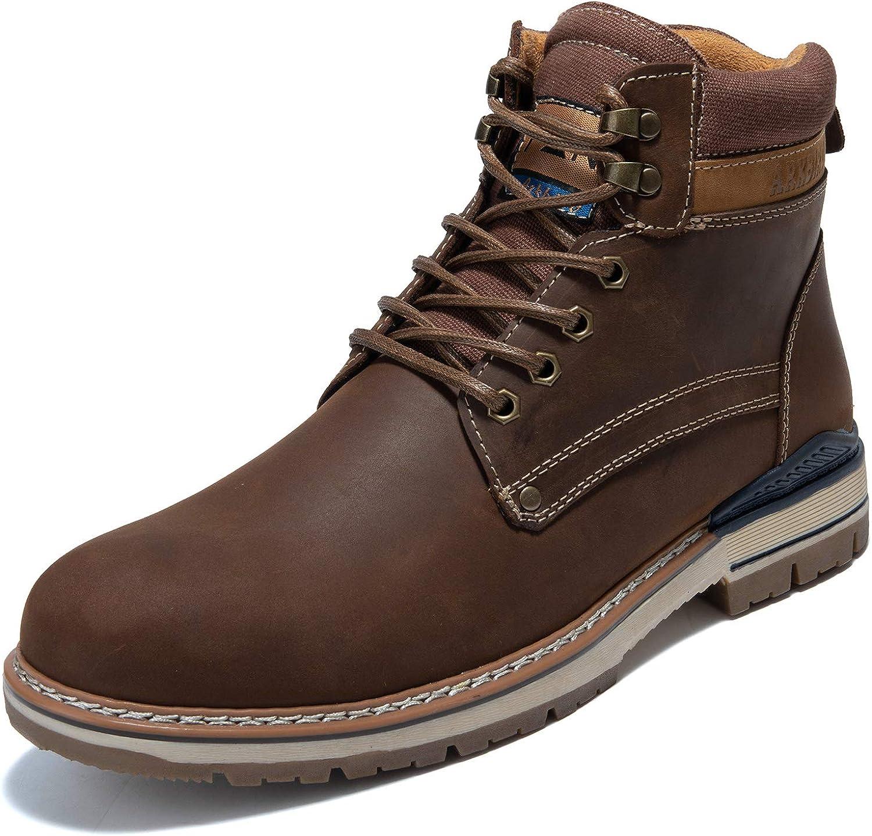 Men's Causal Oxford Dress Boot Arkbird Max 41% OFF Cut Leather Max 85% OFF High Matte W