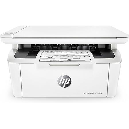 HP LaserJet Pro M28A Stampante Bianco e Nero, solo USB, Multifunzione, fino a 18 ppm, Copia, Scansione, Bianco
