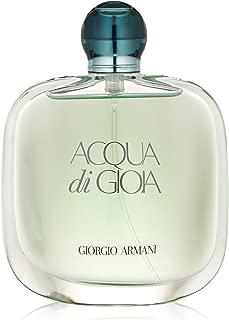 Acqua Di Gioia by Giorgio Armani | Eau de Parfum Spray | Fragrance for Women | Fresh Scent with Key Notes of Cedar, Jasmine, and Lemon | 100 mL / 3.4 fl oz