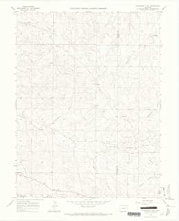 YellowMaps Ponderosa Park CO topo map, 1:24000 Scale, 7.5 X 7.5 Minute, Historical, 1966, Updated 1968, 27.3 x 22.1 in